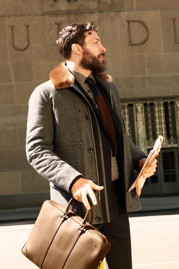 Новые мужские лукбуки Louis Vuitton, Marc Jacobs и Fred Perry. Изображение № 52.