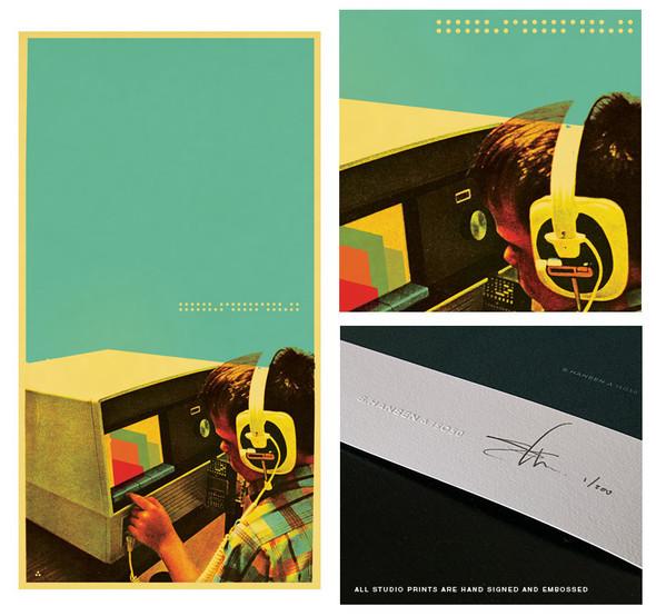 Техно-музыка & ретро-дизайн. Изображение № 9.
