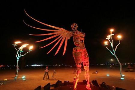 """Фестиваль """"Burning Man! """" вНеваде. Изображение № 12."""