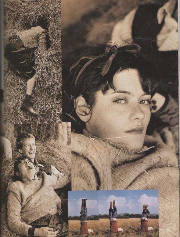 Архивная съёмка: Тим Уокер для Vogue, 1996. Изображение № 4.
