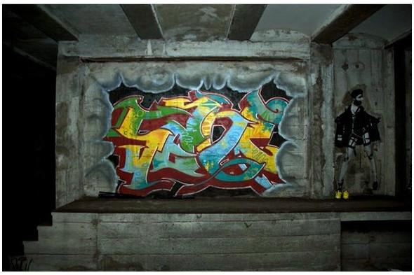 Подземное искусство в Нью-Йорке, светящееся кладбище в Лондоне и другие новости. Изображение № 4.