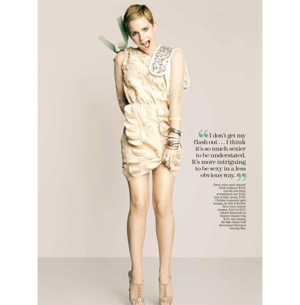 Новые съемки: Elle, Marie Claire, Vogue и другие. Изображение № 26.