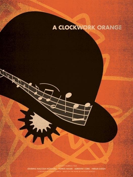 A Clockwork Orange - 20 кинопостеров на тему ультранасилия. Изображение № 12.