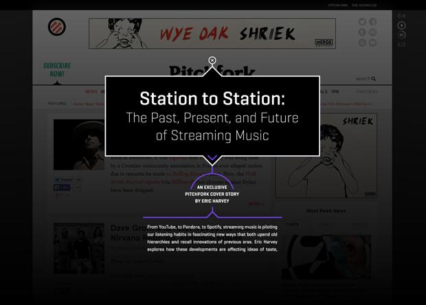 Pitchfork создал гид по индустрии стриминговой музыки. Изображение № 1.