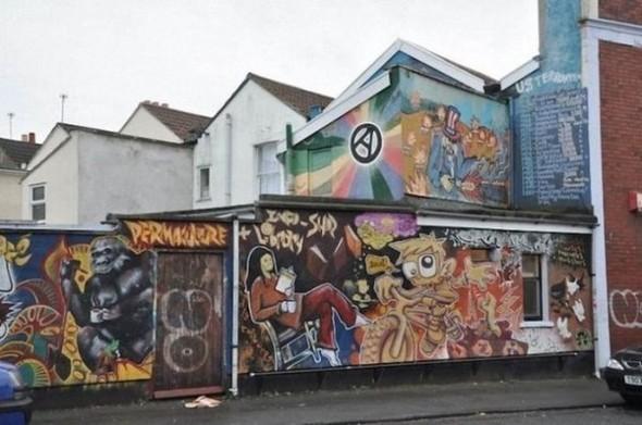 Изображение 38. Бристоль. Художественное граффити.. Изображение № 40.