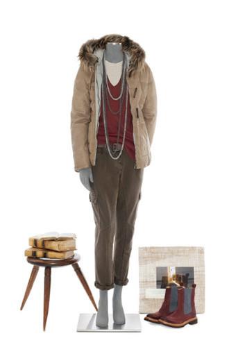 Brunello Cucinelli: лукбук осень-зима 2011/2012. Изображение № 64.