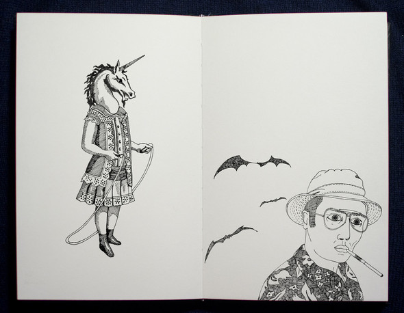 Чёрные ручки, молескин. Изображение №15.