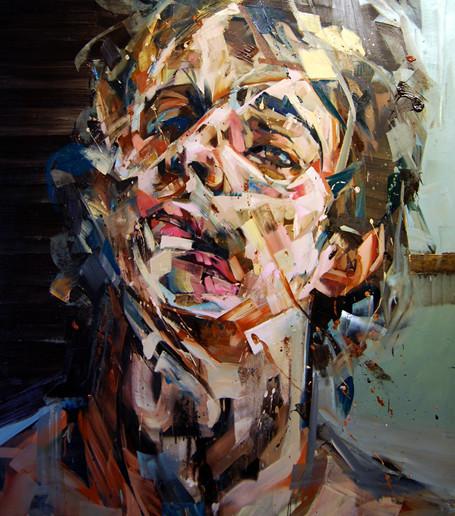 Абстрактные мужские портреты Эндрю Сальгадо. Изображение № 1.