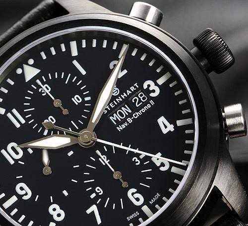 Steinhart Nav B-Chrono II black. 795 EUR (19% VAT incl.). Изображение № 61.