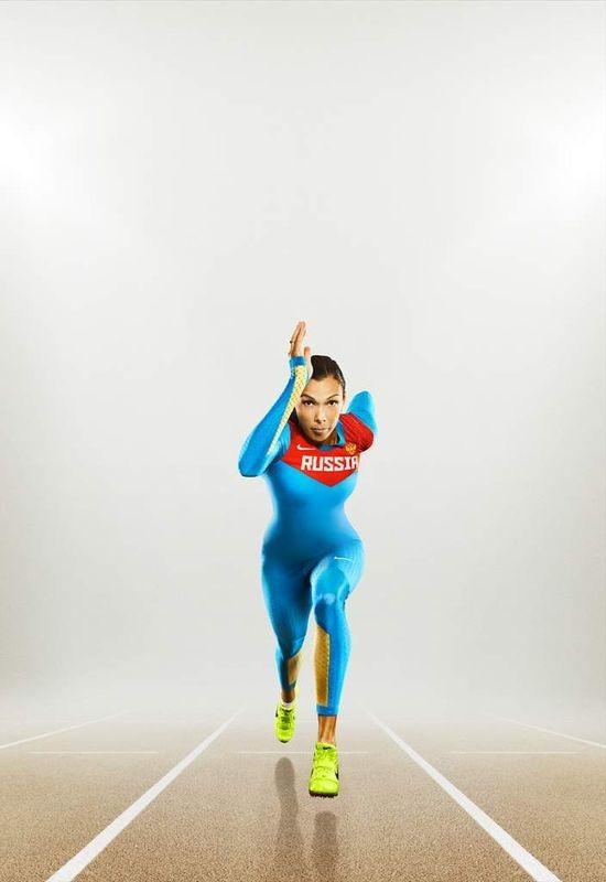 Nike представил новую экипировку для сборной России по лёгкой атлетике. Изображение № 3.
