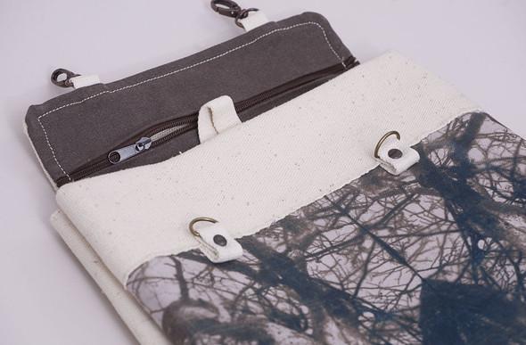 БЕЛОЕ — рюкзаки и сумки из грубого белого хлопка. Изображение № 6.