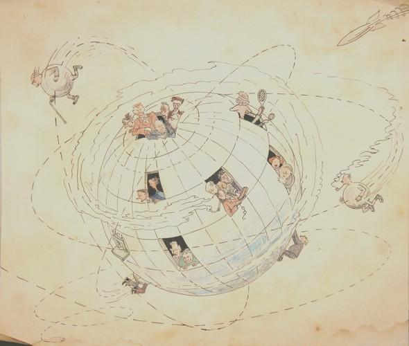 Советская карикатура НА ЗлоБу ДнЯ. Изображение № 5.