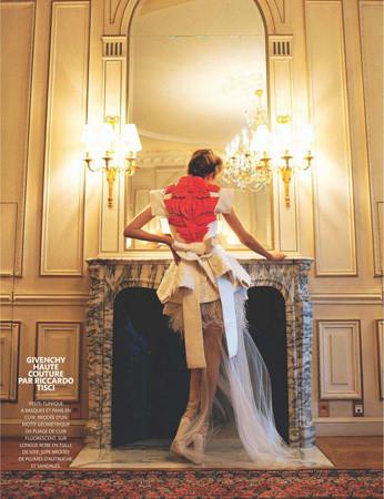 Съёмка из Madame Figaro, февраль 2011 . Изображение № 43.