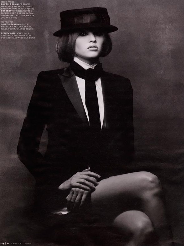 Lara Stone WAugust 2009. Изображение № 3.