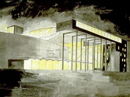 Архитектурные акварели стивена холла. Изображение № 24.