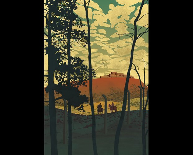 Выбраны иллюстрации для нового издания «О дивный новый мир». Изображение № 8.