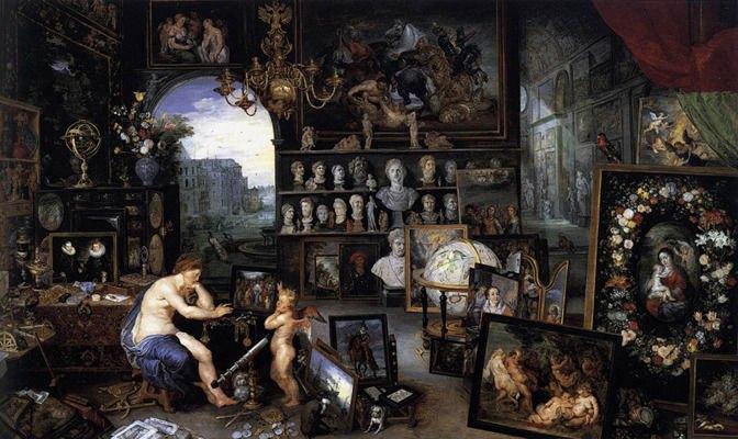 Аллегория зрения, Ян Брейгель Старший, 1618. Изображение № 10.