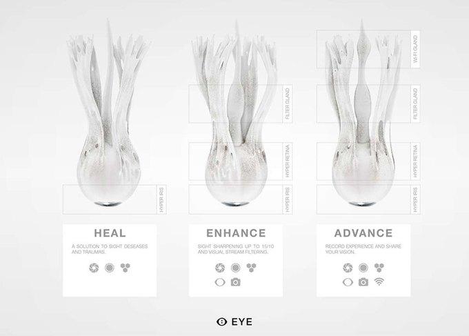 Стартап MHOX предложит заменить глаза на синтетические. Изображение № 2.