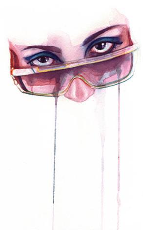Marion Bolognesi иего плачущие лица. Изображение № 5.