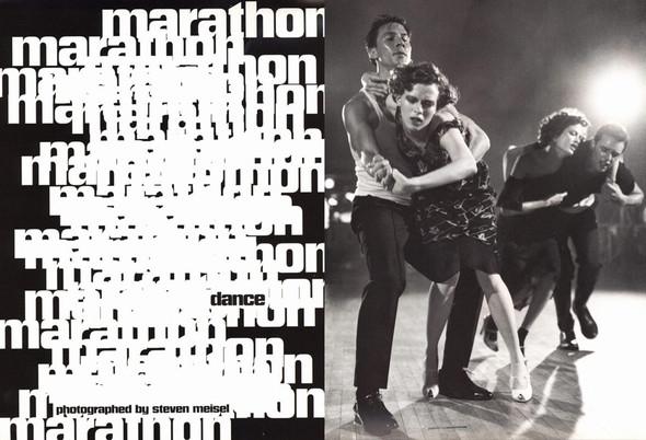 Архивная съёмка: сет Fashion Marathon из итальянского Vogue за 1997 год. Изображение № 1.
