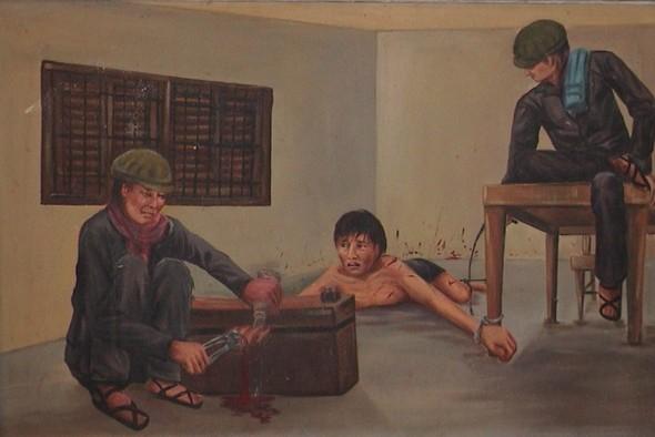 Кхмерский художник Vann Nath. Изображение № 13.