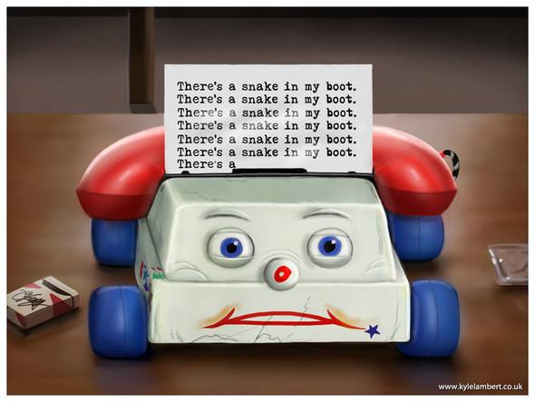 «История игрушек» в «Сиянии» Стенли Кубрика. Изображение № 17.