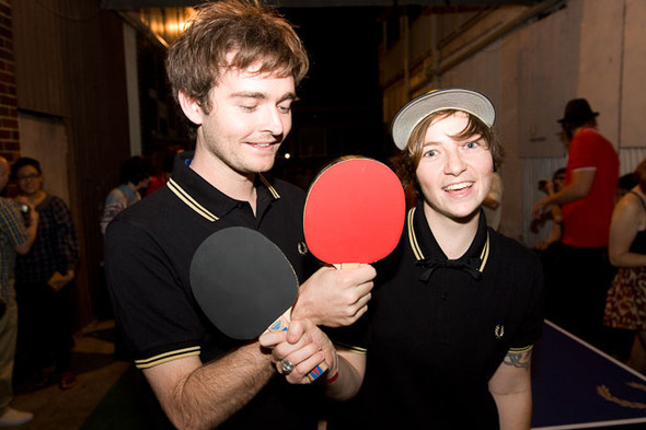Fred Perry Table Tennis Tournament. Изображение № 1.