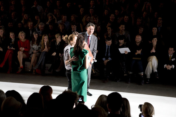 Первые лица Голландии на неделе моды в Амстердаме. Изображение № 12.