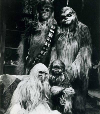 Редкие фотографии сосъемок «Звездных войн». Изображение № 8.