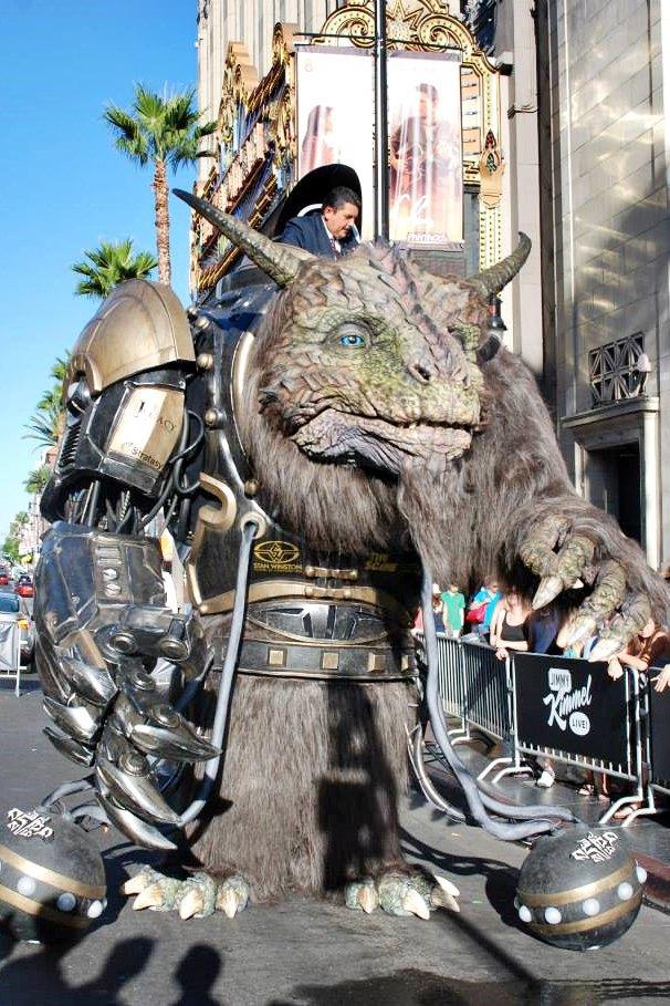 Stratasys рассказала о работе над монстром для Comic-Con . Изображение № 3.
