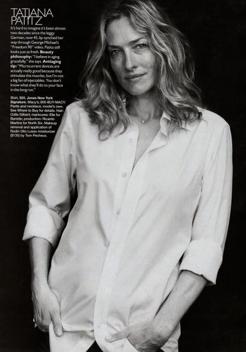 Harper Bazaar USпоказал фотомоделей безмакияжа. Изображение № 15.