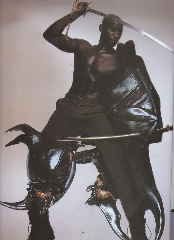 Архивная съёмка: Ник Найт для Arena Homme Plus, 1996. Изображение № 2.