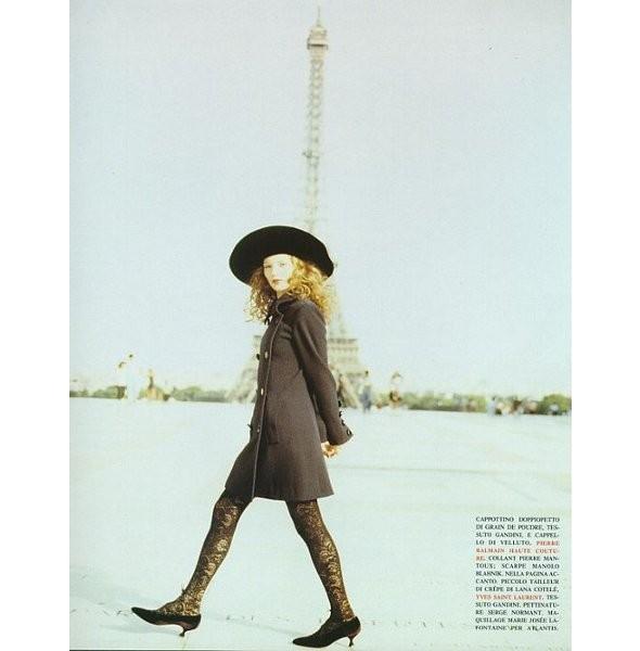 Архивная съёмка: Кейт Мосс для итальянского Vogue, 1993. Изображение № 5.