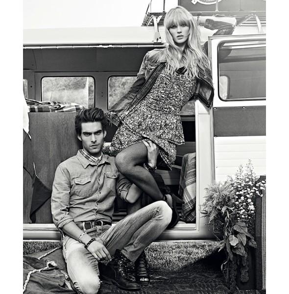 Изображение 33. Рекламные кампании: Fendi, Pepe Jeans и Trussardi 1911.. Изображение № 33.
