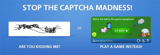 Вместо CAPTCHA предлагают использовать мини-игры. Изображение № 1.