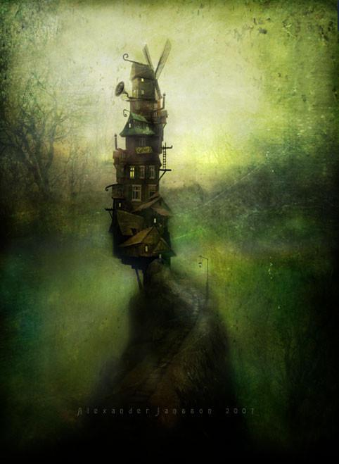Мистический мир. Alexander Jansson. Изображение № 10.