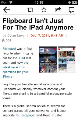 Flipboard: Your own social magazine. Изображение № 5.