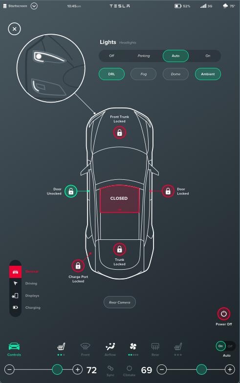 Концепт: интерфейс компьютера Tesla Model S. Изображение № 12.