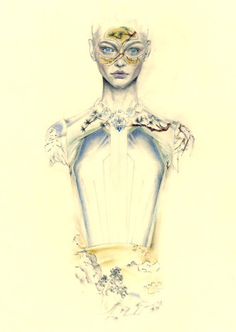 Fashion illustrations by Cedric Rivrian. Изображение № 4.