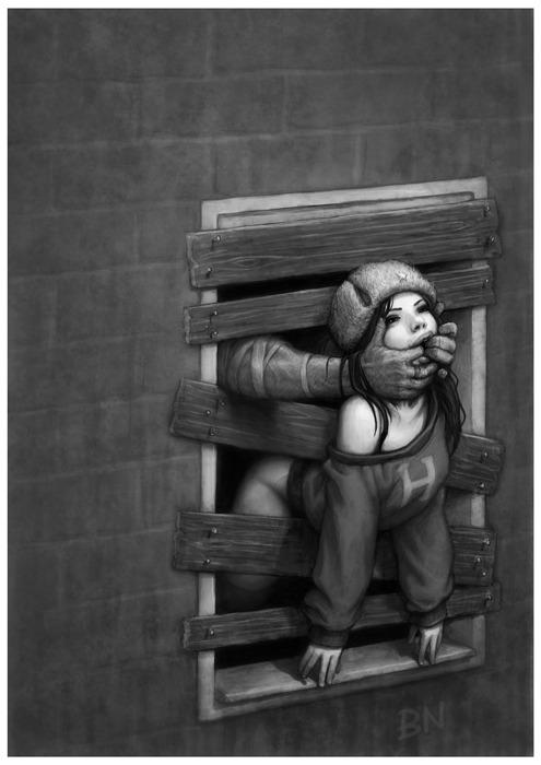 BEN NEWMAN. Живопись на грани психотерапии.. Изображение № 11.