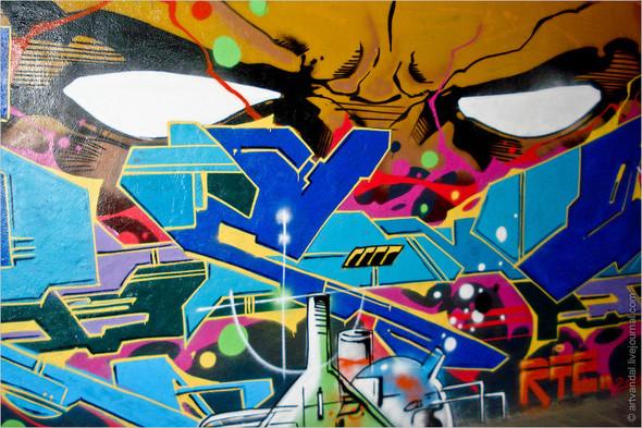 Стрит-арт и граффити Валенсии, Испания. Изображение № 29.