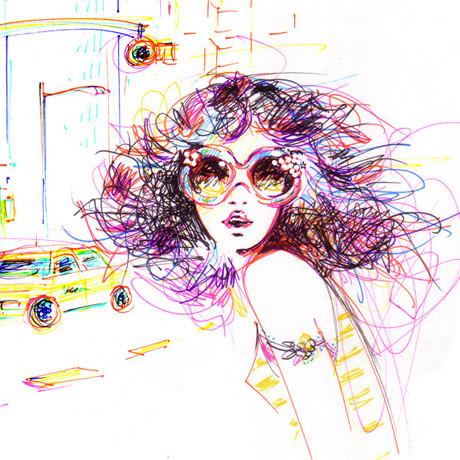 Иллюстрации Antoinette-Fleur. Изображение № 1.