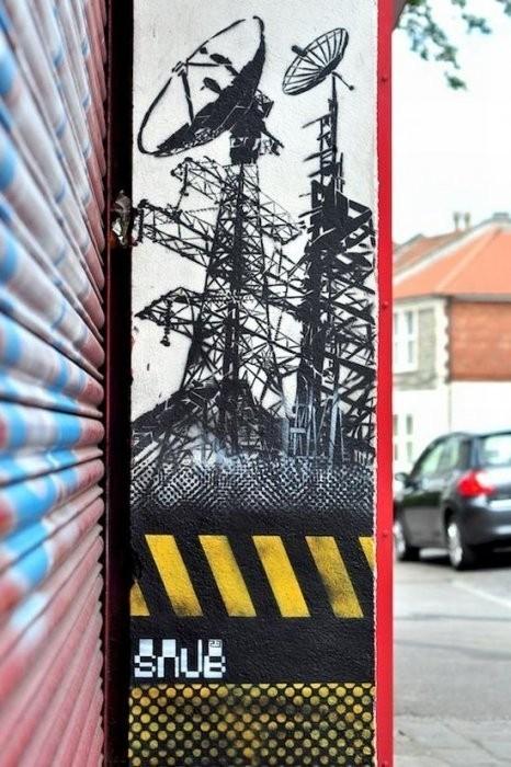 Изображение 19. Бристоль. Художественное граффити.. Изображение № 21.
