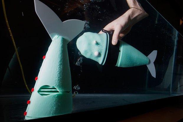 В MIT создали мягкого робота-рыбу. Изображение № 1.