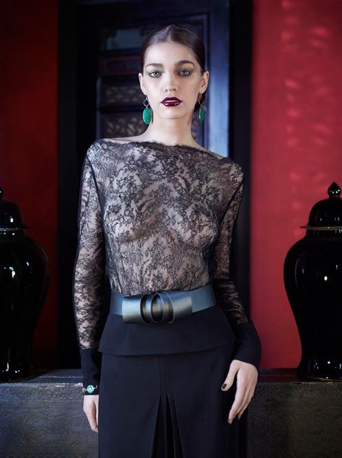 Лукбук осенне-зимней кампании бренда нижнего белья La Perla. Изображение № 18.