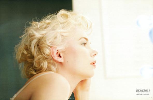 Съёмка: Мишель Уиллиамс для Vogue. Изображение № 3.