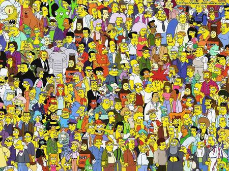 «Живые» Симпсоны. Изображение № 2.
