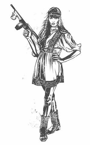 Девушки с оружием от Frank Barbara. Изображение № 19.