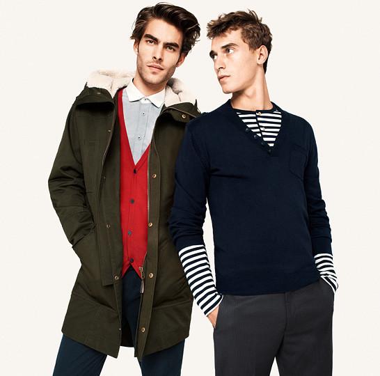 Кампания: Клемент Шаберно и Джон Кортахарена для H&M. Изображение № 2.