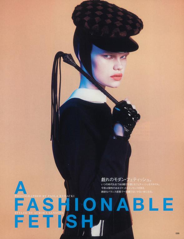 Съёмка: Келли Миттендорф для японского Vogue. Изображение № 1.